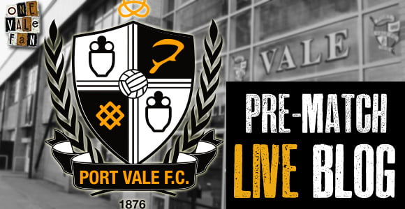 Live Blog: Port Vale v Swindon build-up