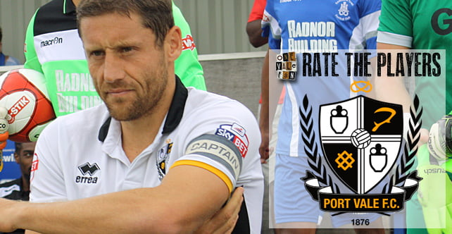 Rate the Players: Port Vale 3-0 Crewe