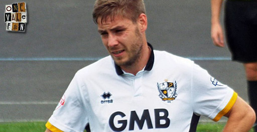 Port Vale midfielder Sam Foley