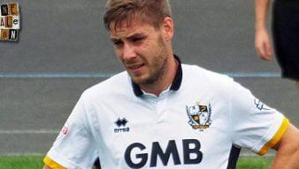 Port Vale midfielder Sam Foley