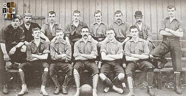 Port Vale 1894 team