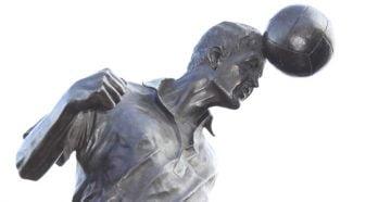 The Roy Sproson statue at Vale Park stadium