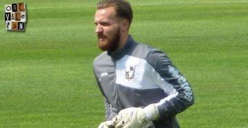 Port Vale goalkeeper Jak Alnwick