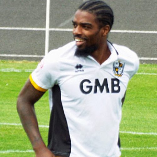 Port Vale midfielder Anthony Grant