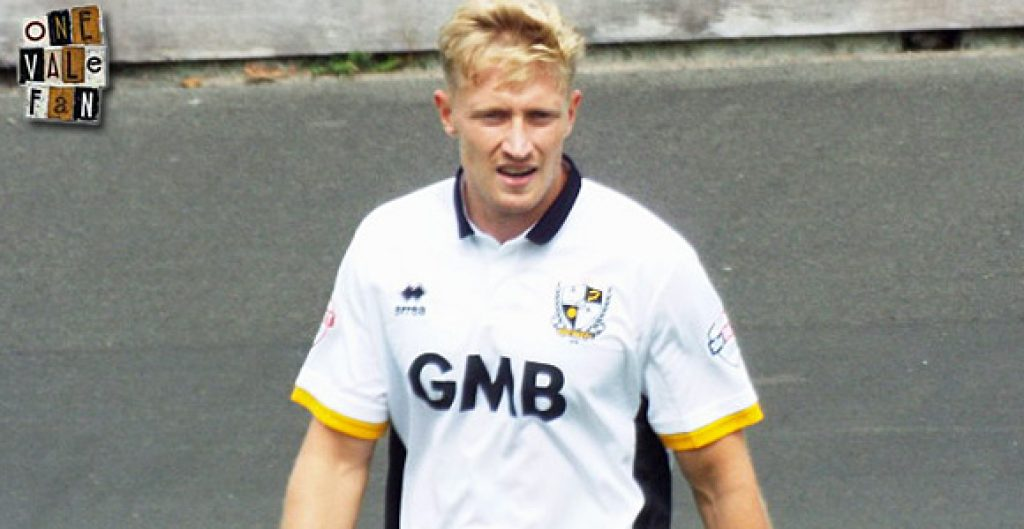 Port Vale striker AJ Leitch-Smith