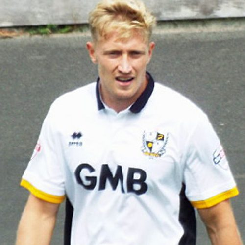 Port Vale striker AJ Leitch-Smith