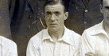 Robert Firth pictured in a 1921 Port Vale team line-up