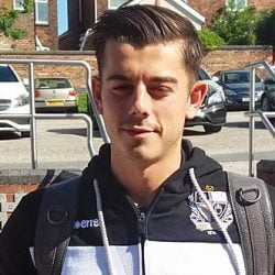 Port Vale striker Alex Jones
