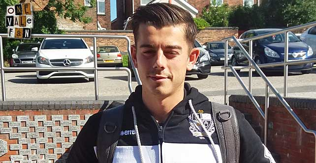 Alex Jones fitness boost for Port Vale?