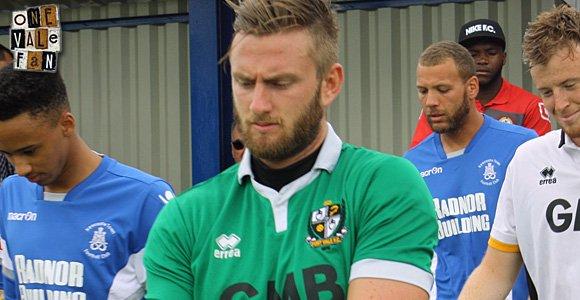 Port Vale goalkeeper Chris Neal