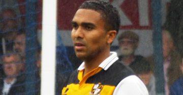 Port Vale winger Jerome Thomas