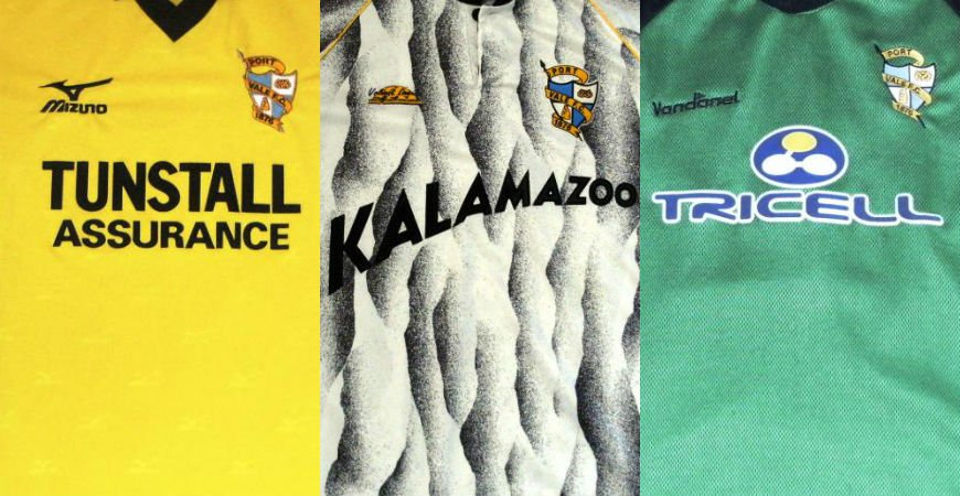 Home, away, goalkeeper and one-off kit designs from throughout the years