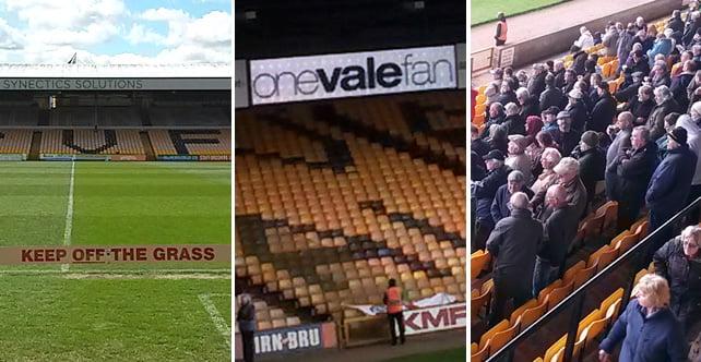 Gallery: OVF's sponsorship of Port Vale 4-1 Rochdale