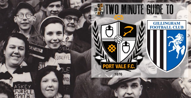 Two minute guide to: Gillingham v Port Vale