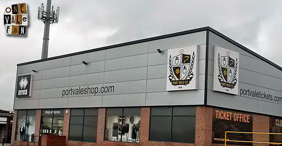 Port Vale FC shop