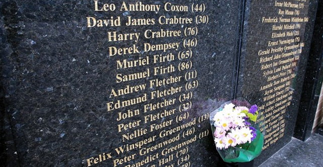The Bradford fire disaster, remembering the 56