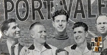 The 1953-54 Port Vale Iron Curtain side