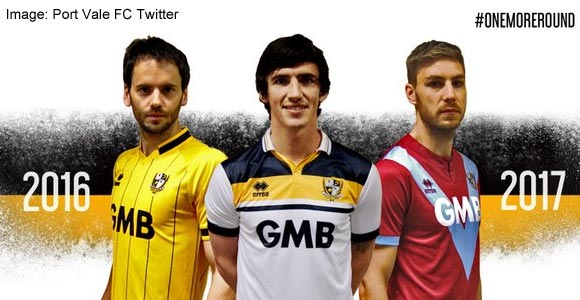 Vote: Your view of the new Port Vale kit designs?