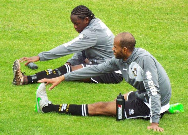 Christopher Mbamba and Rigino Cicilia