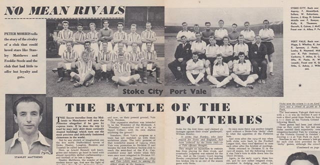 1957: The Potteries rivalry is examined