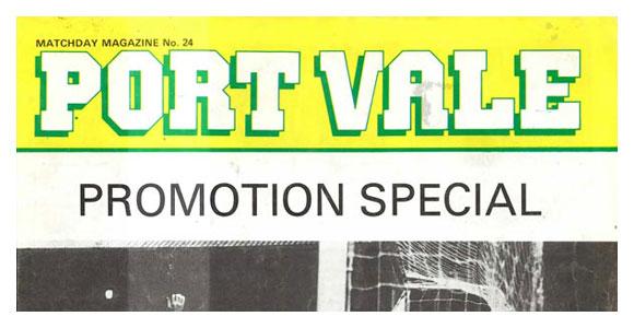Port Vale programmes