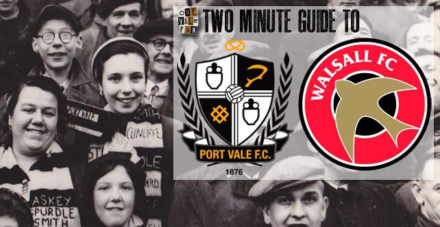 Two minute guide to: Port Vale v Walsall
