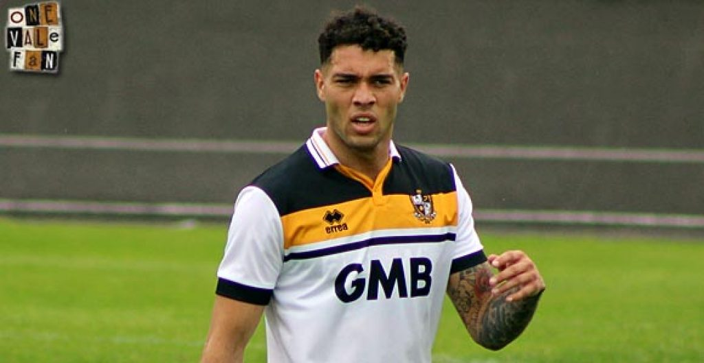 Port Vale striker Anton Forrester