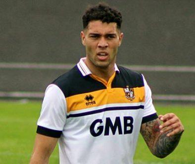 Port Vale striker Anton Forrester