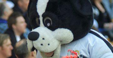 Port Vale FC mascot Boomer