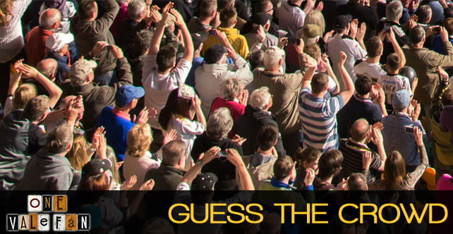 Guess the crowd: Win prizes in our FREE competition