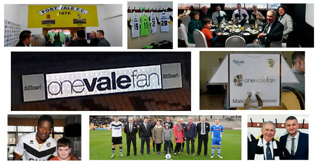 OVF is proud to be sponsoring two games at Vale Park next season