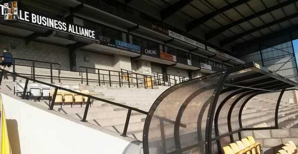 The Lorne Street stand, Vale Park stadium