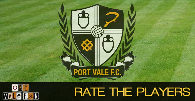 Rate the players: Port Vale 3-1 Scunthorpe Utd