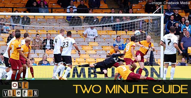 Two minute guide: Bradford City v Port Vale
