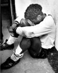 Robbie Earle Cries in tunnel after Vale secure promotion against Bristol Rovers
