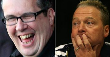 Peter Miller and Perry Deakin, who to date have never paid for their shares in the club