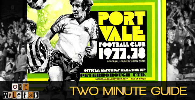 Two minute guide to: Peterborough Utd v Port Vale