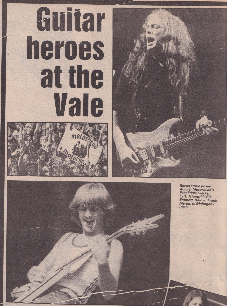 Melody Maker - Guitar Heroes at Vale image 1