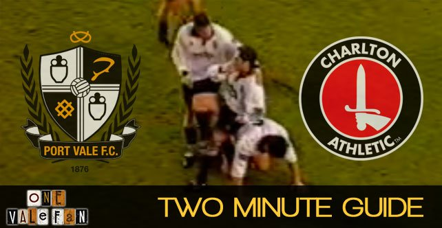 Two minute guide: Port Vale v Charlton Athletic
