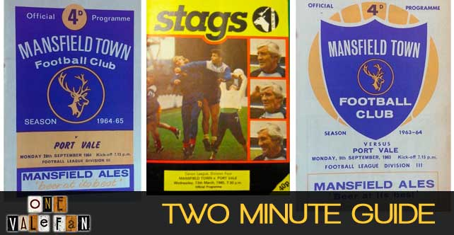 Two minute guide to: Port Vale v Mansfield Town