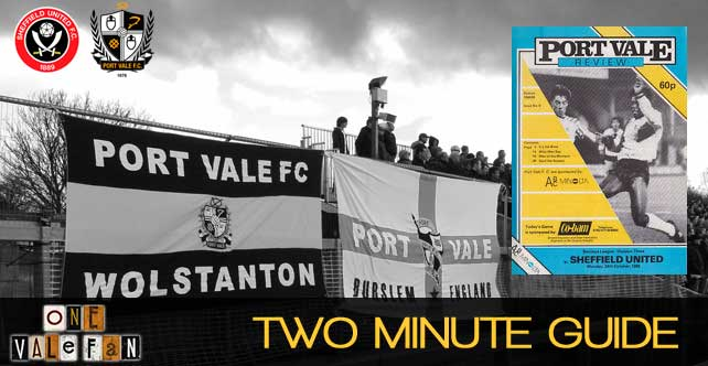 Two minute guide: Sheff Utd v Port Vale