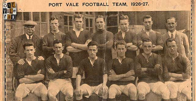 Vale's amazing 1926 run – 8 games, 7 wins, 23 goals for, 4 goals against