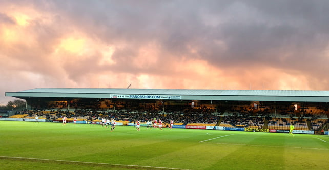 Brief gallery: storm clouds over Vale Park