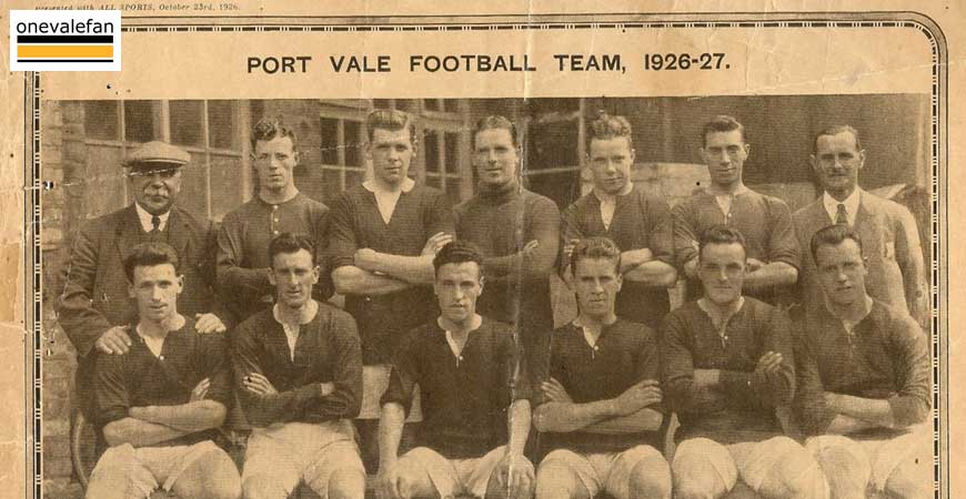 Port Vale 1926-27 team
