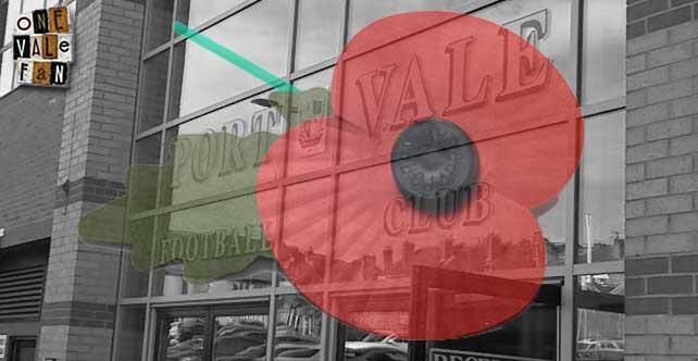 Poppy - Port Vale entrance