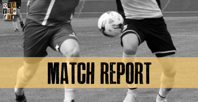 Match Report: Port Vale 1-0 Swindon