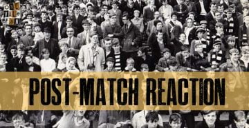 Post-match reaction