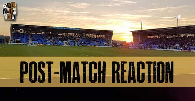 Vale fans post-Shrewsbury reaction: bemusement at negative tactics