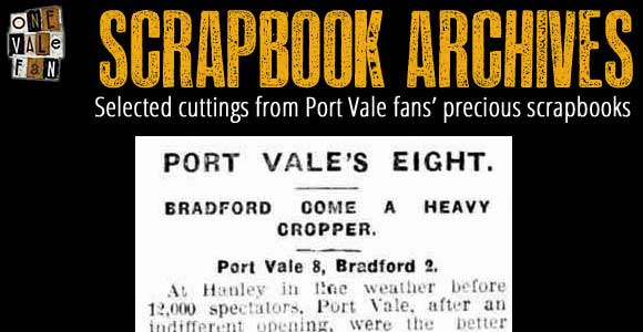 Match reports from Port Vale's most successful season ever…