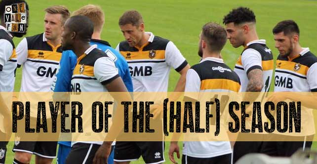 Vote: Port Vale player of the season (so far)…